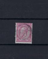 N°46 GESTEMPELD Ruraal Stom Muet SUPERBE - 1884-1891 Leopold II