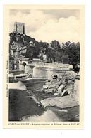 DEP. 26 CREST-SUR-DROME - LE PONT COUPE SUR LA DROME - GUERRE 1939-40 - Guerra 1939-45