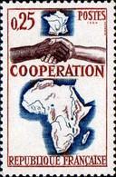 France Poste N** Yv:1432 Mi:1493 Coopération France-Afrique & Madagascar - Unused Stamps