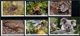 Australia (2020) - Set -  /  Wildlife Recovery - Butterflies - Birds - Lizards - Frogs - Koala - Butterflies