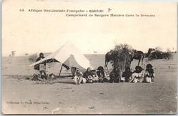 MAURITANIE - Campement De Bergers Maures En Brousse - Mauritania