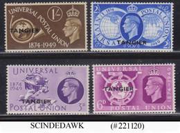 TANGIER - 1949 75th ANNIVERSARY OF UPU SCOTT#546-549 - 4V MNH - Otros