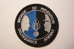 PATCH ECUSSON INSIGNE GENDARMERIE BRIGADE DE PREVENTION DELINQUANCE JUVENILE - Policia