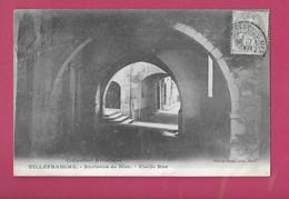 Villefranche Rare Environs De Nice Une Vieille Rue Giletta  5208 - Villefranche-sur-Mer
