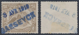 "Chemin De Fer - TR61 + Griffe De Fortune ""Maeseyck/ 8 Avr 1919"" - 1915-1921"