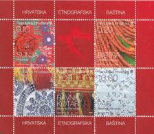 Etnografska - Different Regions - On Leaflet - Croazia