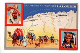 """LES COLONIES FRANÇAISES . """" L'ALGÉRIE """" . PUBLICITÉ CIRAGE LION NOIR - Réf. N°11087 - - Geschiedenis"""