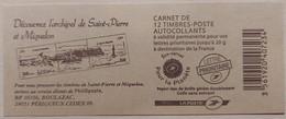 France - Carnet 590-C5 - Marianne De Beaujard TVP 20g - Saint Pierre Et Miquelon - Non Plié - Uso Corrente