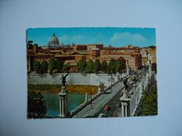 ROMA  -  ROME  -  Ponte Vittorio  -   Italie - Castel Sant'Angelo