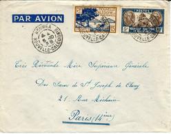 1938- Enveloppe Par Avion -affr. à 5,15 F.  De NOUMEA Pour La France - Non Classificati