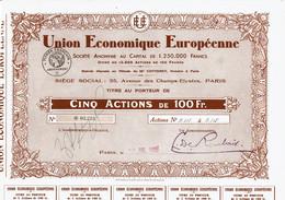 75-UNION ECONOMIQUE EUROPEENNE.   Lot De 4 - Other