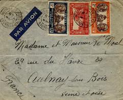 1939- Enveloppe Par Avion -affr. à 7,90 F.  De NOUMEA Pour La France - Non Classificati