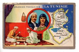 """LES COLONIES FRANÇAISES . """" LA TUNISIE """" . PUBLICITÉ CIRAGE LION NOIR - Réf. N°11098 - - History"""