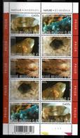 Belgique 2003 - N° 3174/78, Le Feuillet De 10, Minéraux, Nature, - Ungebraucht