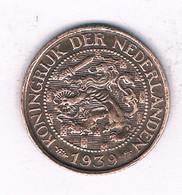 1 CENT 1939  NEDERLAND /9473/ - 1 Cent