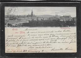 AK 0601  Gruß Aus Wien - Franzensring / Verlag Ledermann Um 1898 - Wien Mitte