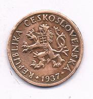 10 HALLER  1937  TSJECHOSLOWAKIJE /9475/ - Czechoslovakia