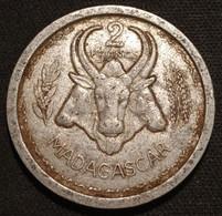 MADAGASCAR - 2 FRANCS 1948 - KM 4 - Madagascar