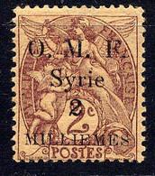 SYRIE - N° 22** - TYPE BLANC - Ungebraucht