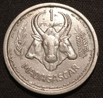 MADAGASCAR - 1 FRANC 1948 - KM 3 - Madagascar