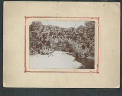 Photo 8cm X 11cm  Sur Carton 20cm X 15cm Du Pont D'Arc (Ardèche) - Lugares