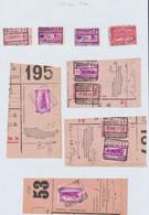 """Chemin De Fer - Page De Collection : Cachet Chemin De Fer (firme) """"Bruxelles-Brussel / Fischer Frères"""" (1933-34) - 1923-1941"""