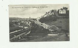 ALLEMAGNE - WEILBURG - Die Vernichtung Des Zepellin L In Weilburg 25 04 1910 ( Accident Zeppelin ) Bon état - Weilburg