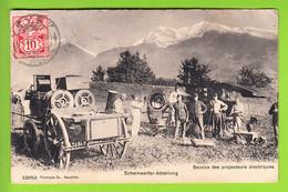 Armée Suisse : Service Des Projecteurs Electriques, Scheinwerfer Abteilung. 2 Scans. Edition Photoypie Co - Ohne Zuordnung