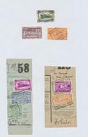 """Chemin De Fer - Page De Collection : Cachet Chemin De Fer (firme) """"Pacheric S.A. / Bruxelles - Nord"""" (1937-38) - 1923-1941"""