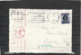 Croatia NDH Zagreb WEHRMACHT CENSORED POSTCARD 1941? - Croazia