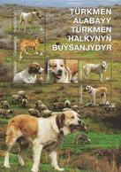 Turkmenistan 2013, Faune, Dog Alabay, Block Of 6v - Turkmenistán
