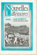 LES NOUVELLES LITTÉRAIRES N°2292 27 Août 1971 PEYREFITTE - CHINE - GOMBROWICZ - ROUANET - GENEVOIX - UBAC - SIEGEL - 1950 - Nu