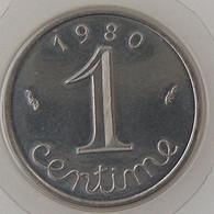 France, 1 Centime 1980, FDC, KM#928 . - A. 1 Centime