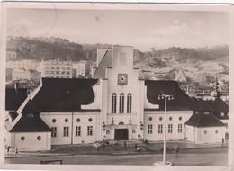 CPSM : Allemagne , Gotenhafen Bahnhof - Danzig