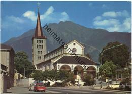 Brig-Glis - Kirche Glis - Kienenhorn - AK Grossformat - Verlag Klopfenstein Adelboden - VS Valais