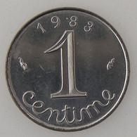 France, 1 Centime 1983, SUP/SPL, KM#928 . - A. 1 Centime