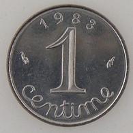 France, 1 Centime 1983 , SUP/SPL, KM#928 . - A. 1 Centime