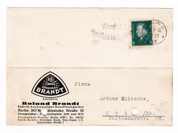 Roladn Brandt, Berlin Company Postcard Posted 1930 B201110 - Brieven En Documenten