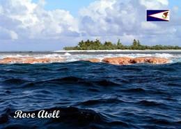 American Samoa Rose Atoll View New Postcard Amerikanisch-Samoa AK - American Samoa
