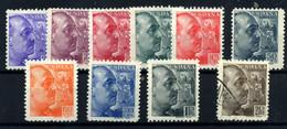 España Nº 867/75, 876. Año 1939 - 1931-50 Neufs