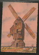CP Illustré Par BARDAY - Nos Vieux Moulins à Vent. En Flandre  Saint Sylvestre Cappel - Edition  BARRE-DAYEZ N° 2910 C - Barday
