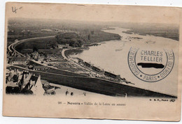 Carte Postale Ancienne - Non Circulé - Dép. 58 - NEVERS - Vallée De La LOIRE Ne Amont - Ondulée Bas Centre - Nevers