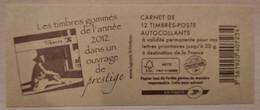 France - Carnet 590-C13 - Marianne De Beaujard TVP 20g - Le Livre Des Timbres 2012 - Non Plié - Uso Corrente