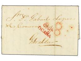 SPAIN: PREPHILATELIC MARKS  DP01 CASTILLA LA NUEVA - ...-1850 Prefilatelia