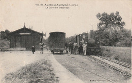 Saint Aubin-d Aubigné La Gare De Tramways - Other Municipalities