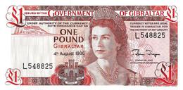 GIBRALTAR 1988 1 Pound - P.20e Neuf UNC - Gibraltar