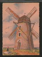 CP Illustré Par BARDAY - Nos Vieux Moulins à Vent. En Picardie Près De Calais - Edition  BARRE-DAYEZ N° 2911 O - Barday