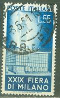 Italie   Yvert  596 Ou Sassone  658  Ob   TB - 1946-60: Used