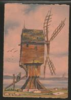 CP Illustré Par BARDAY Nos Vieux Moulins à Vent. En Normande Près St Valéry En Caux  - Edition  BARRE-DAYEZ N° 2912 R - Barday