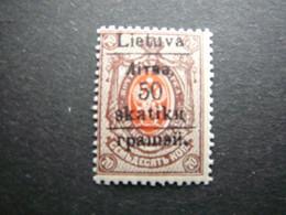 Grodno 50sk./70kop. # Lietuva Lithuania Litauen Lituanie Litouwen # 1919 MNH ** # - Litauen